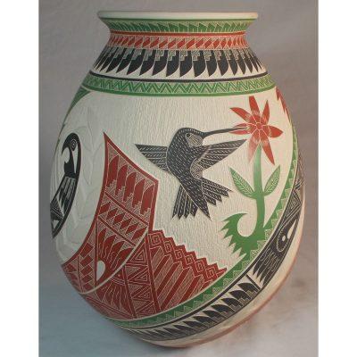 Mata Ortiz Pottery by Eduardo Quintana