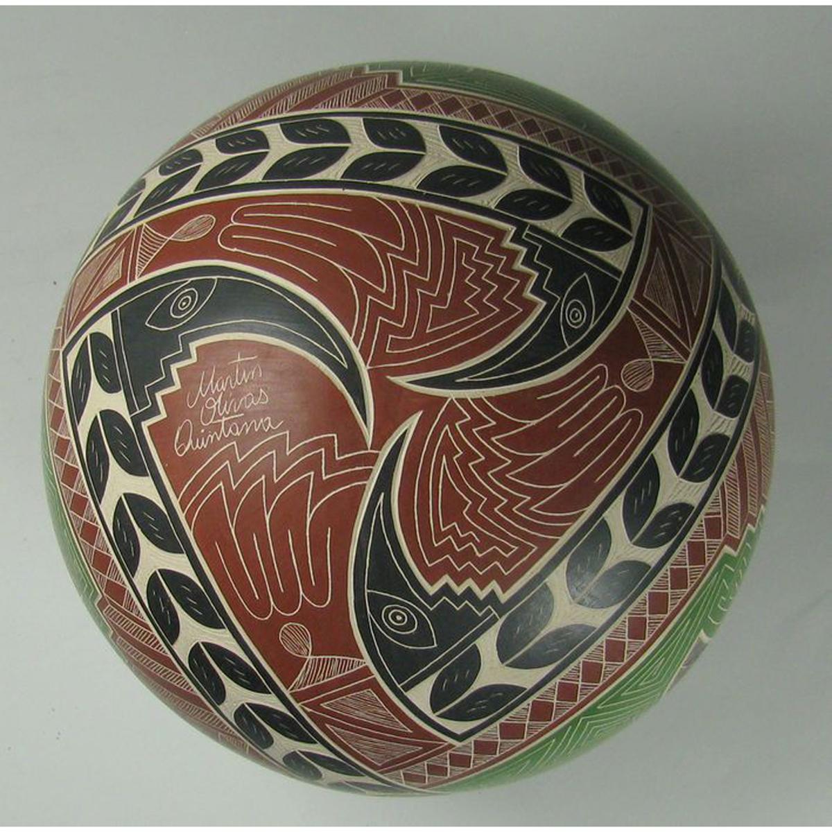 Mata Ortiz Pottery by Martin Quintana