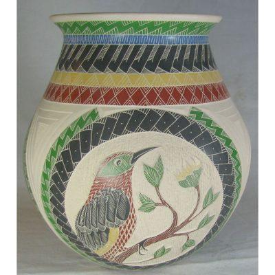 Mata Ortiz Pottery, Chihuahua Hector Quintana Birds
