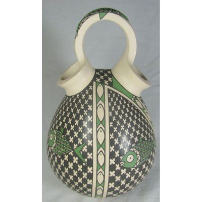 Mata Ortiz Pottery, Chihuahua Gerardo Ledesma Geometric