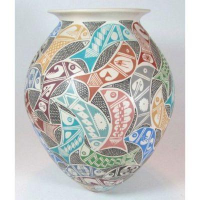 Mata Ortiz Pottery by Yolanda Soto