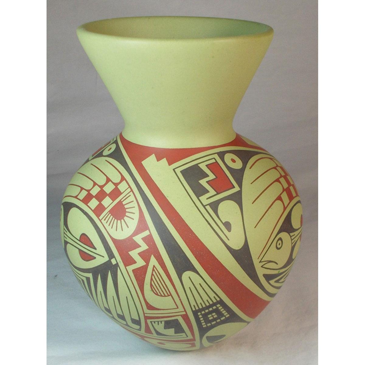 Mata Ortiz Pottery, Chihuahua Rodrigo Perez Mata Ortiz Pottery