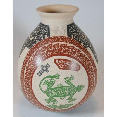 Mata Ortiz Pottery, Chihuahua Juan Carlos Rodriguez Fish