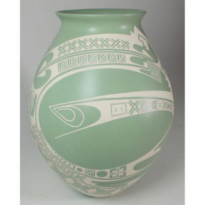 Mata Ortiz Pottery, Chihuahua Damian Quezada Mata Ortiz Pottery