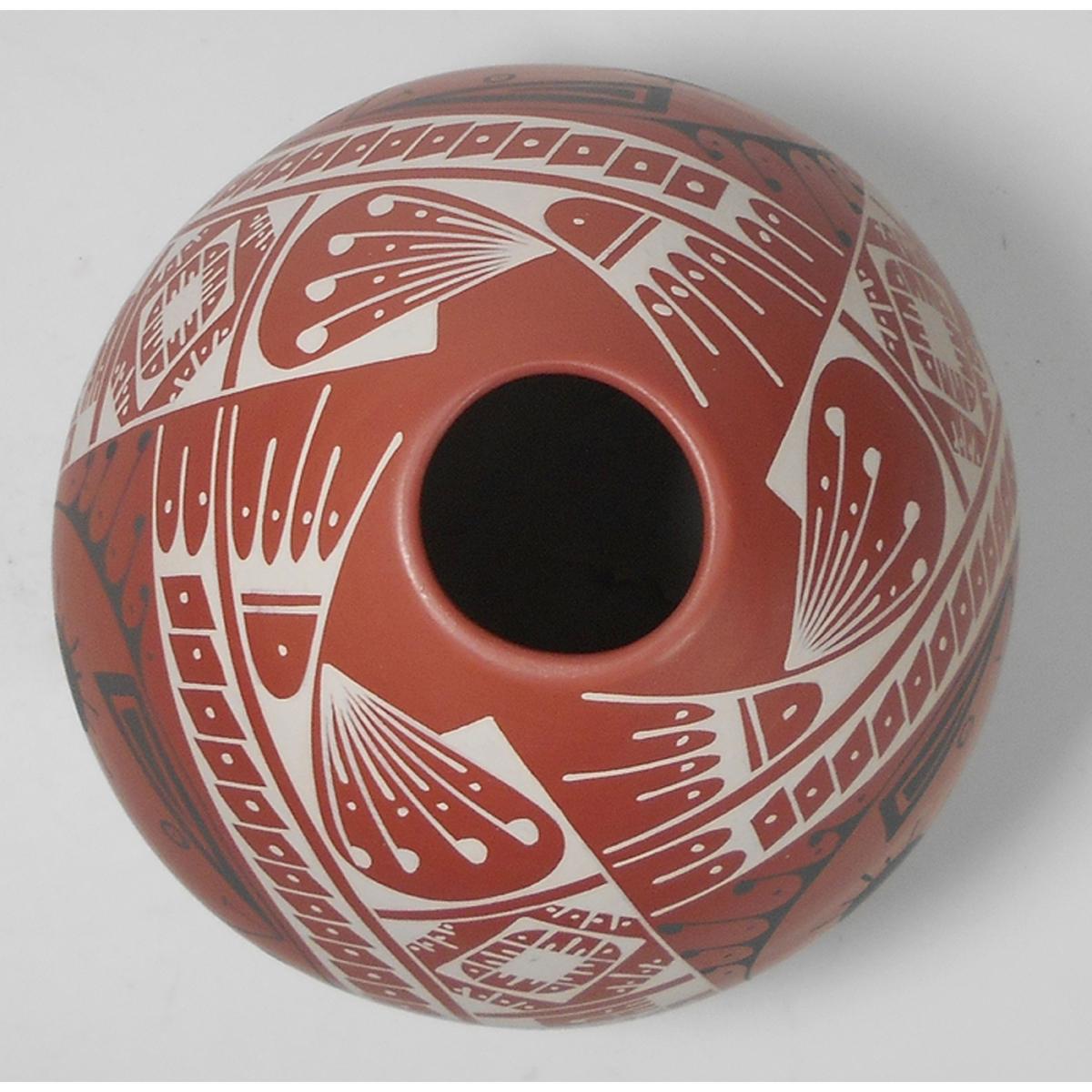 Mata Ortiz Pottery, Chihuahua Oscar Quezada Jr. Mata Ortiz Pottery