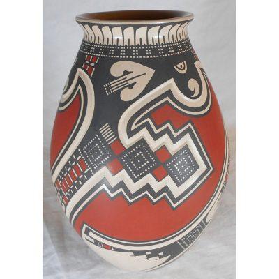 Mata Ortiz Pottery, Chihuahua Tavo Silveira Mata Ortiz Pottery