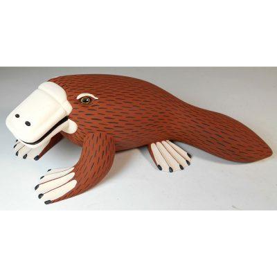 Ariel Playas Ariel Playas: Platypus Oaxacan Woodcarving