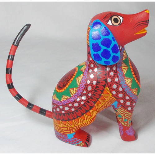 Oaxacan Woodcarving by Pedro Munoz