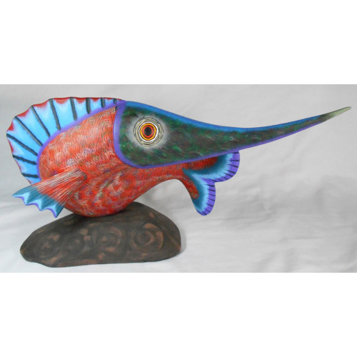 Oaxacan Woodcarving by Damian & Beatriz Morales