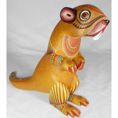 Oaxacan Woodcarving by Rubi Fuentes