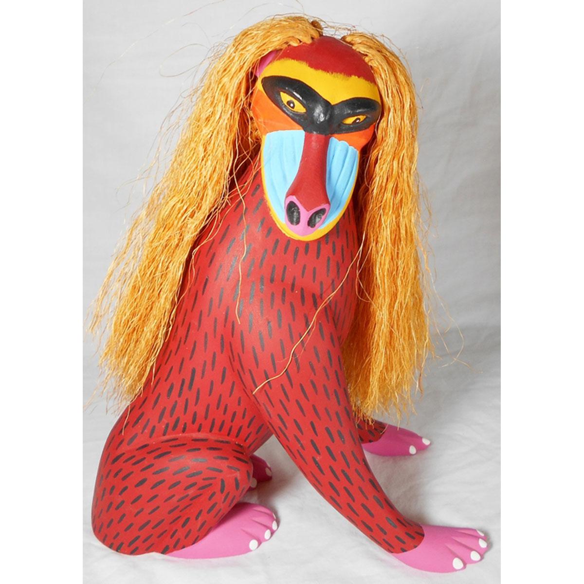 Luis Pablo Luis Pablo: Mandrill Baboon