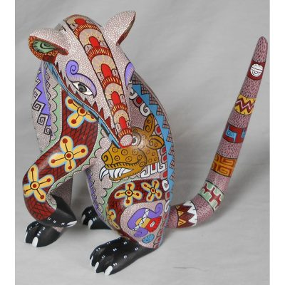 Oaxacan Woodcarving by Bertha Cruz