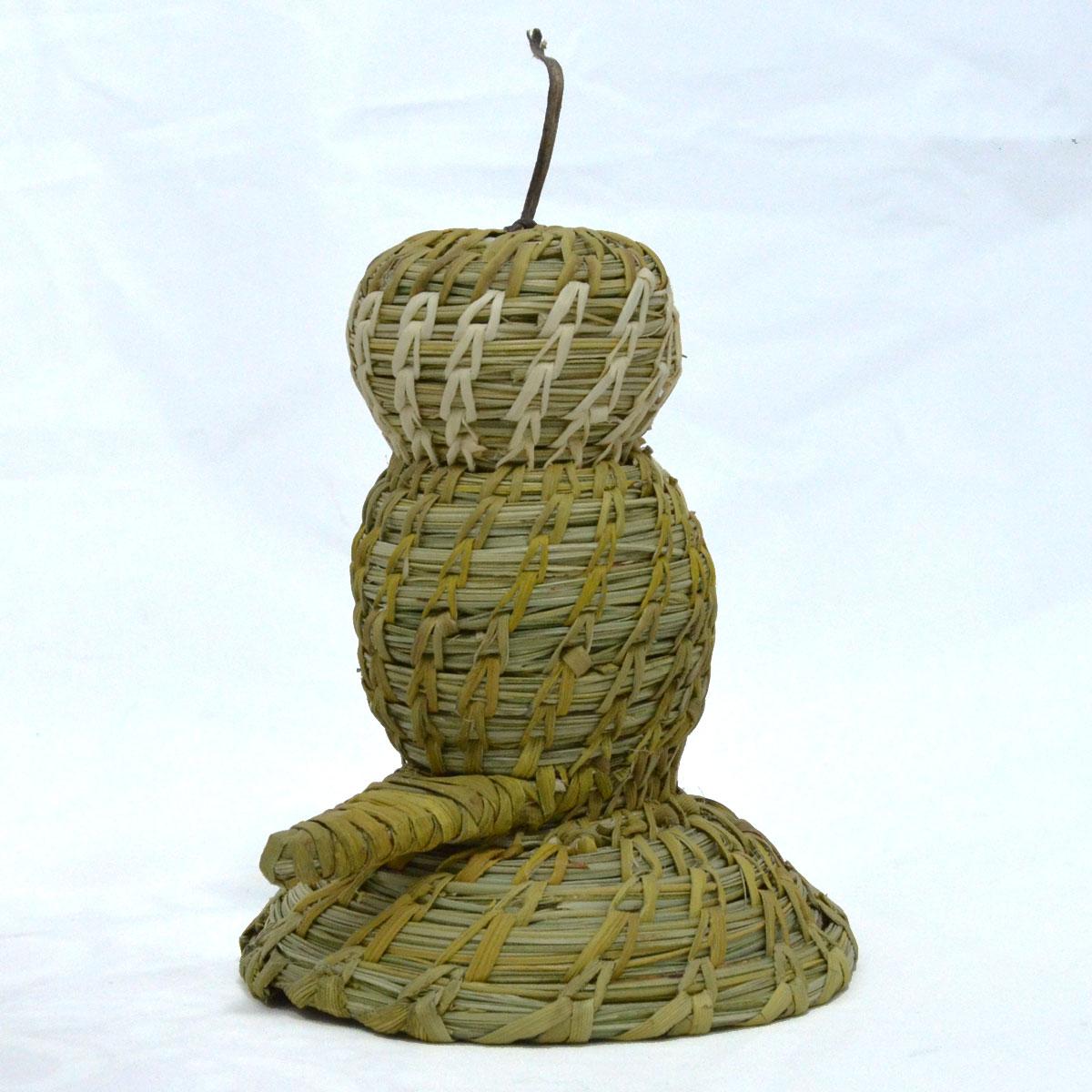 Contemporary Fred and Della Cruz, Tohono O'odham: Quail Basket Birds