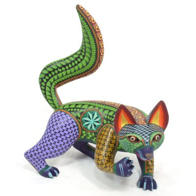 Oaxacan Wood Carving By Eduardo Fabian