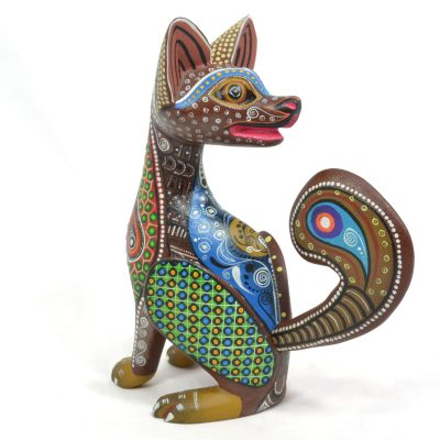 Oaxacan Wood Carving By Family Garcia Cruz