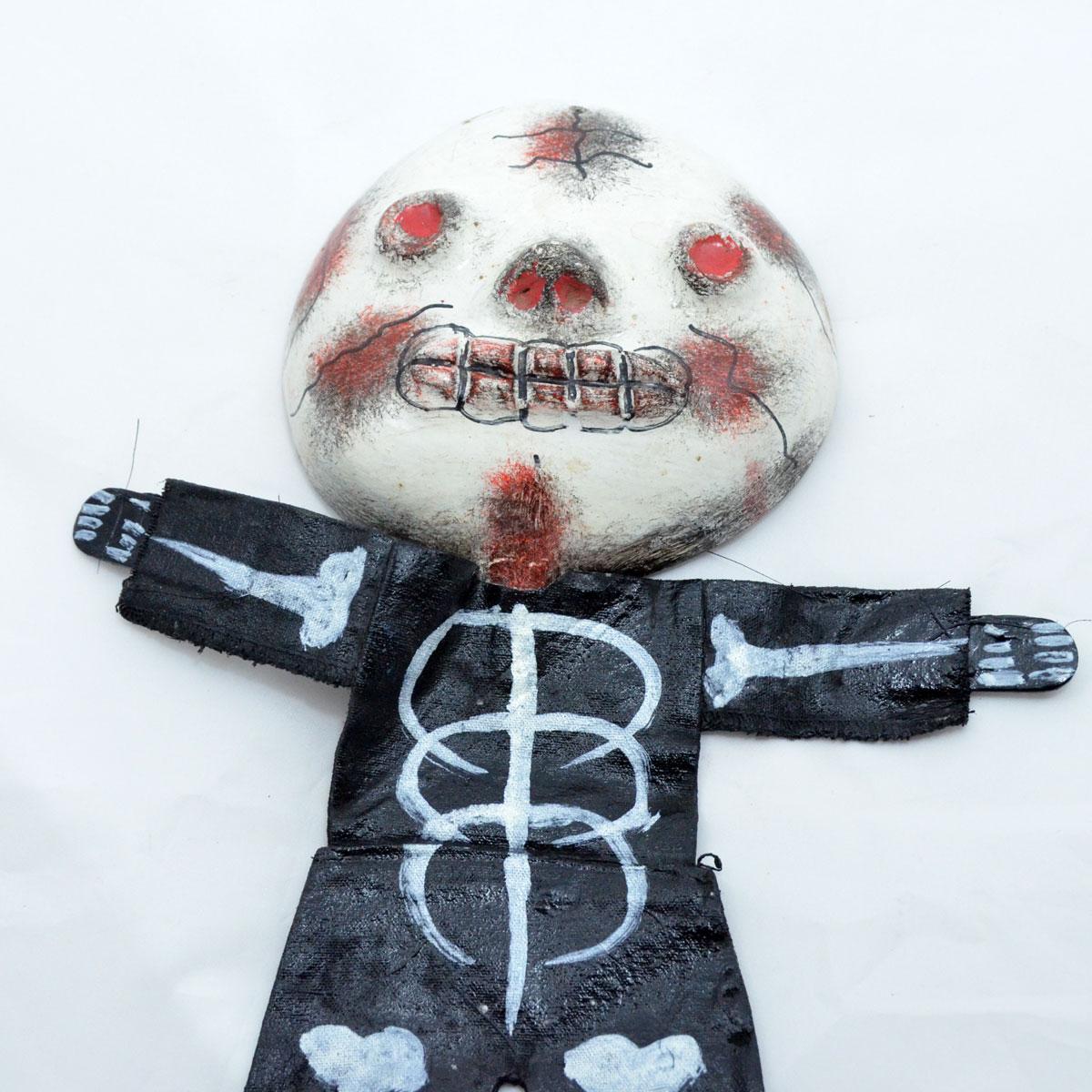 Unknown Artist: Coconut Doll Skeleton