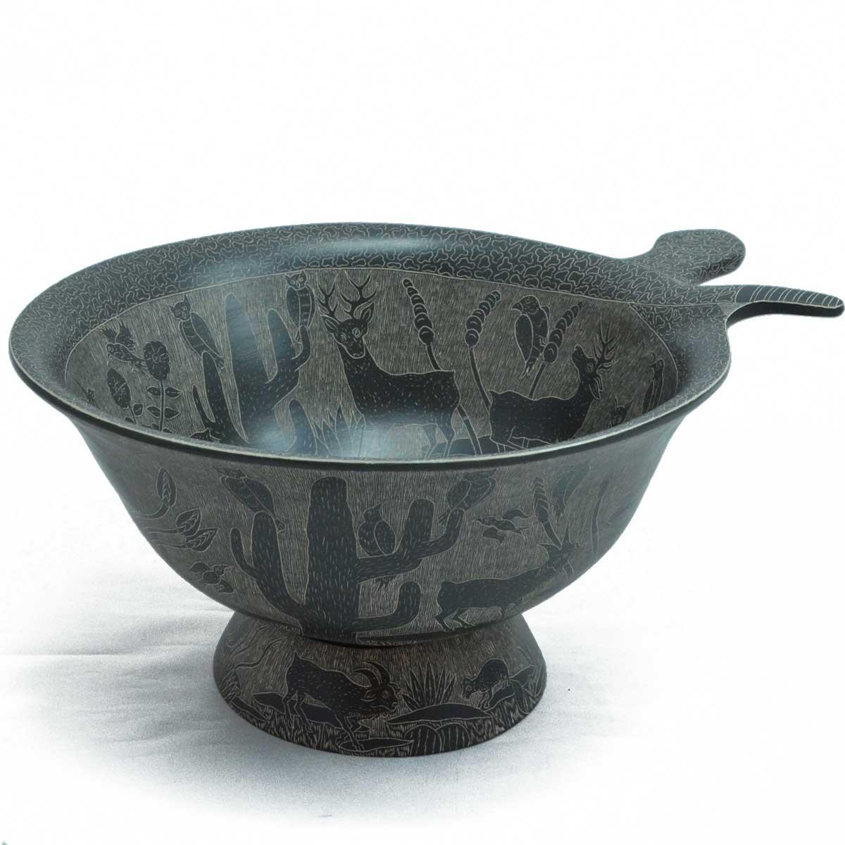 Angel Guerrero: Black and Gray Bowl
