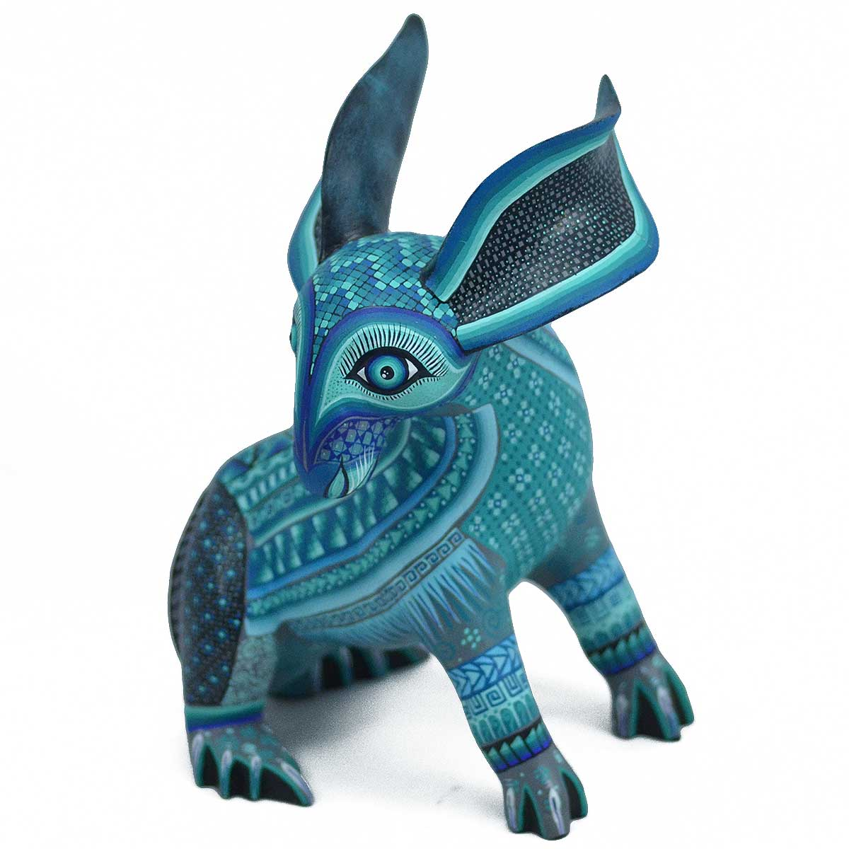 Oaxacan Wood Carving: Ivan Fuentes & Mayte Calvo Rabbit