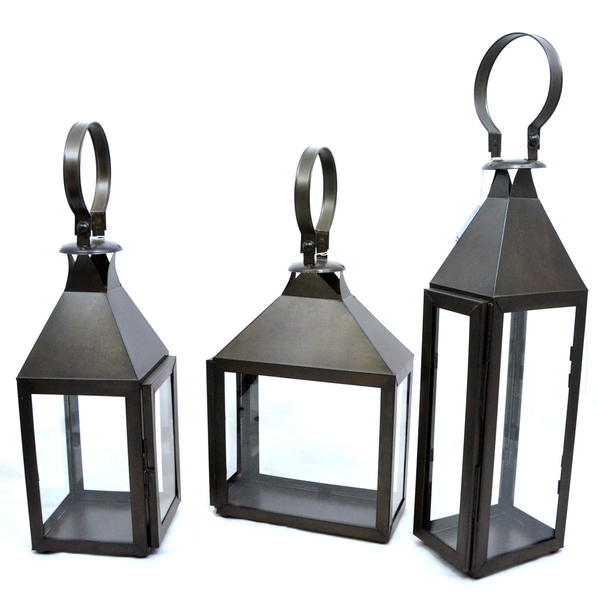 Paulo Cortes Higuera & Family: Tin Work Candle Lanterns