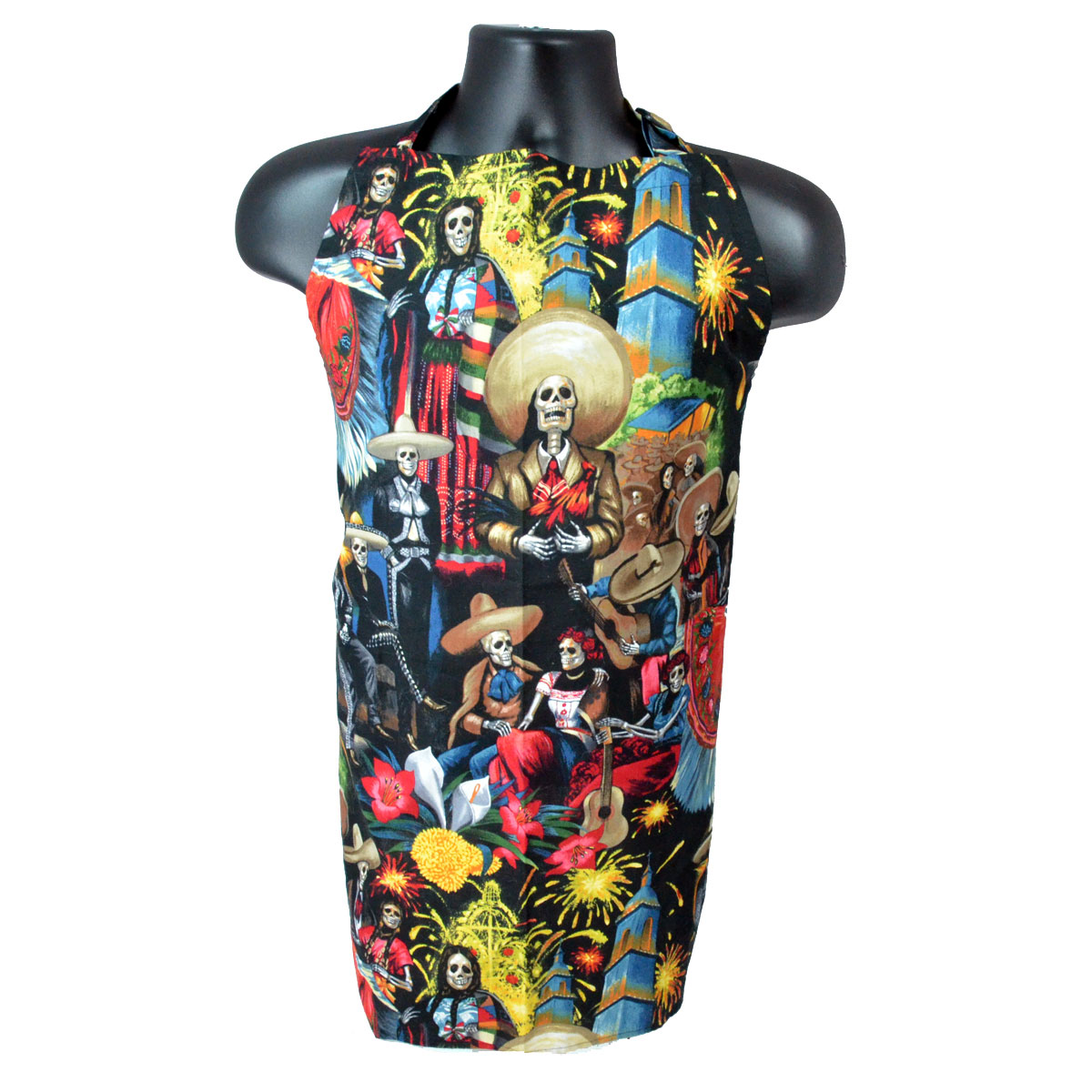 Day of the Dead (Dia de los Muertos) Aprons by Mary Ellen