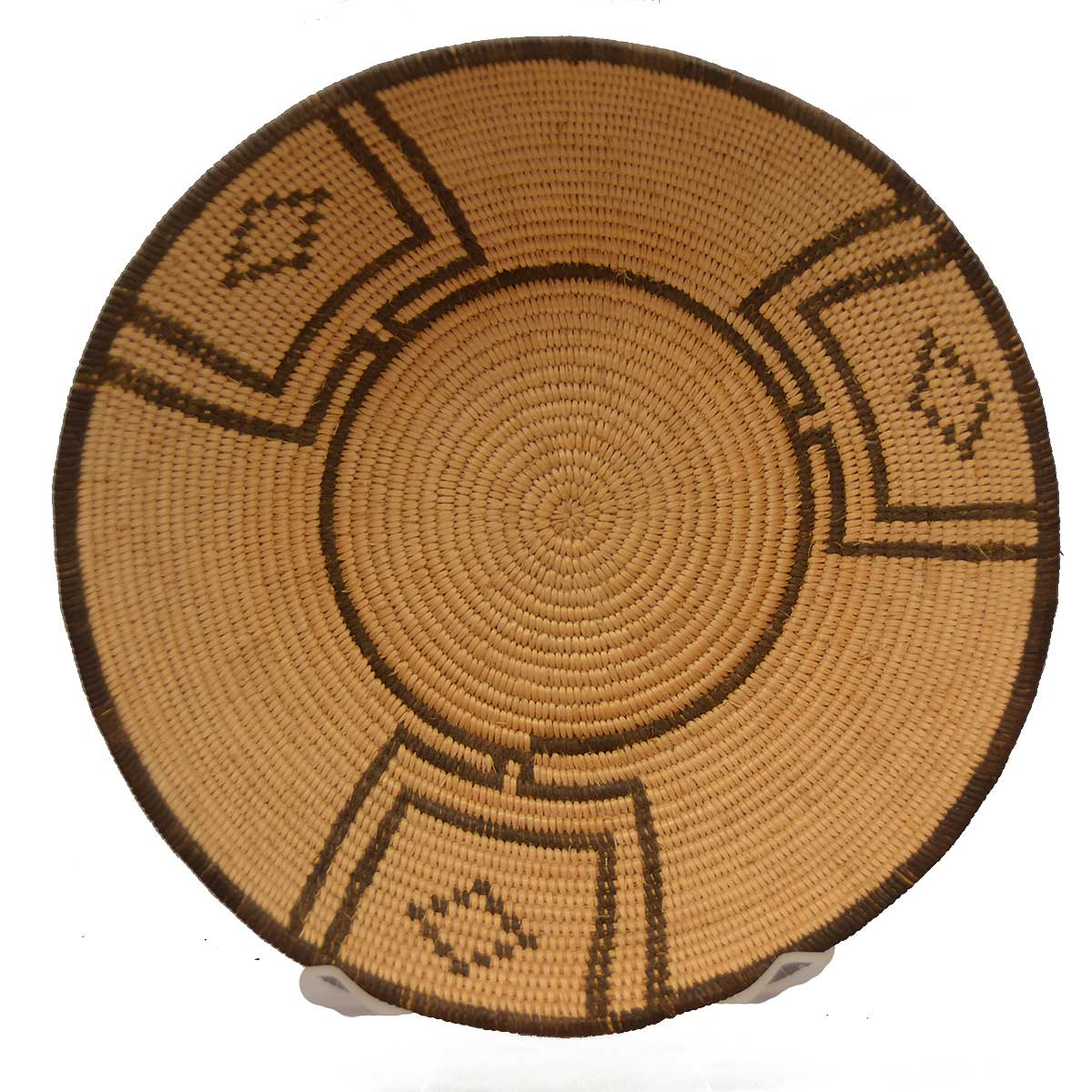 American Indian Basketry: Chemehuevi Symmetrical Design ca 1930's