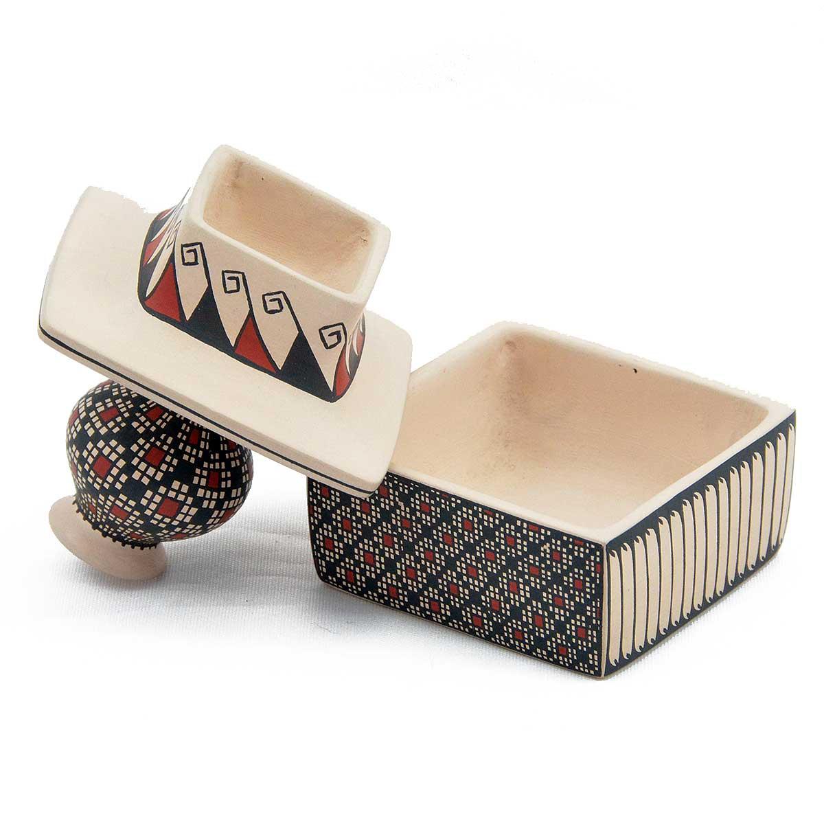 Miriham Gallegos Miriham Gallegos: Small Square Box Fine Geometric Geometric