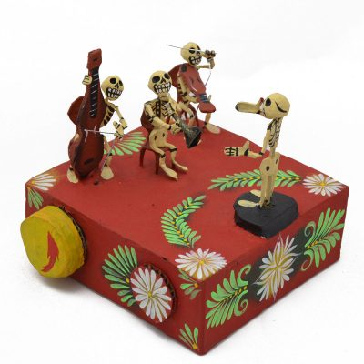 Cartoneria (Mexican Paper Mache) Josue Eleazar Castro: Large Musical Orchestra cartoneria
