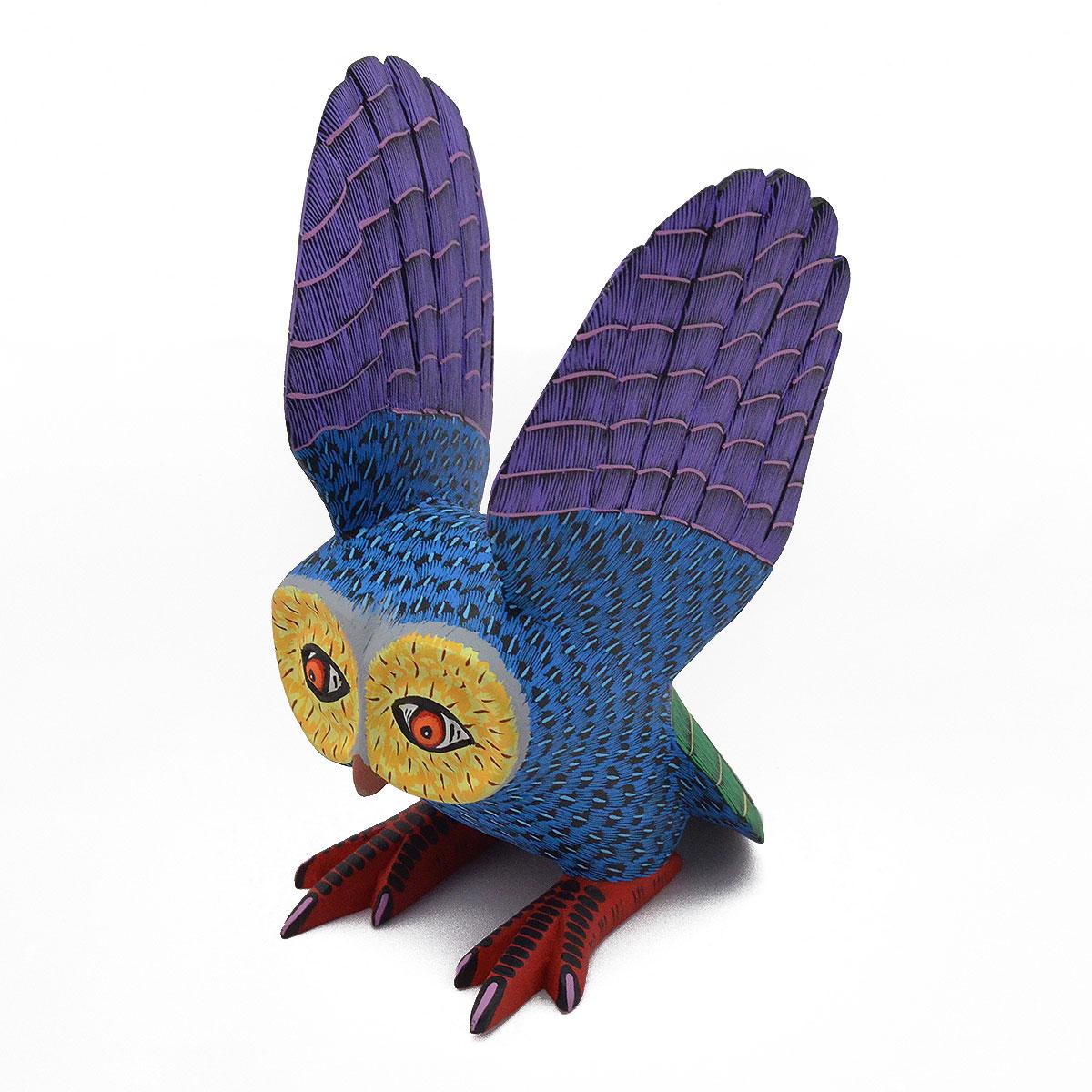 Eleazar Morales Eleazar Morales: Small Blue Owl Birds