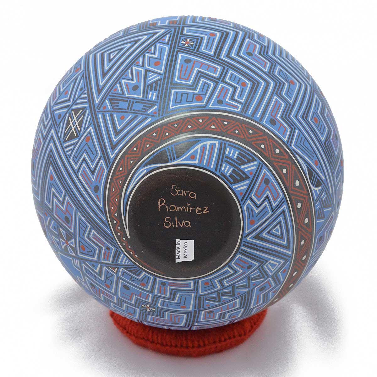 Sara Ramirez Silva Sara Ramirez Silva: Medium Abstract Paquime Mata Ortiz Pottery