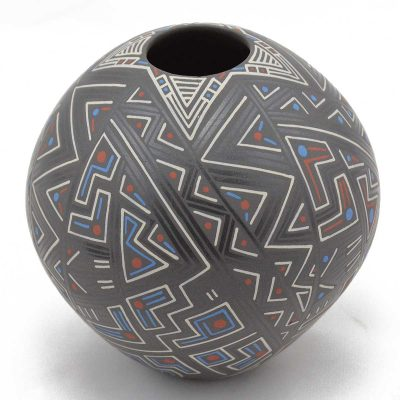 Sara Ramirez Silva Sara Ramirez Silva: Small Abstract Mata Ortiz Pottery