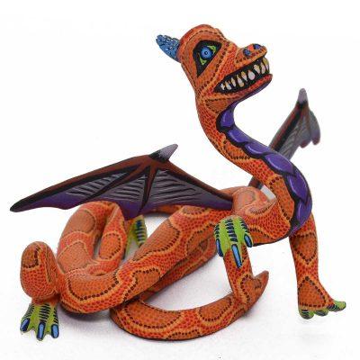 Eleazar Morales Eleazar Morales: Small Orange Dragon Dragon