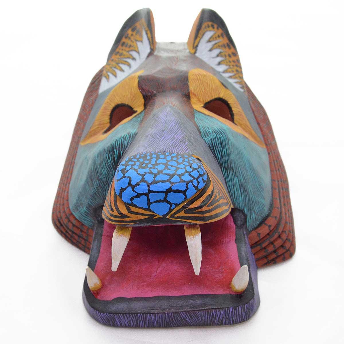 Eleazar Morales: Wolf Head Mask
