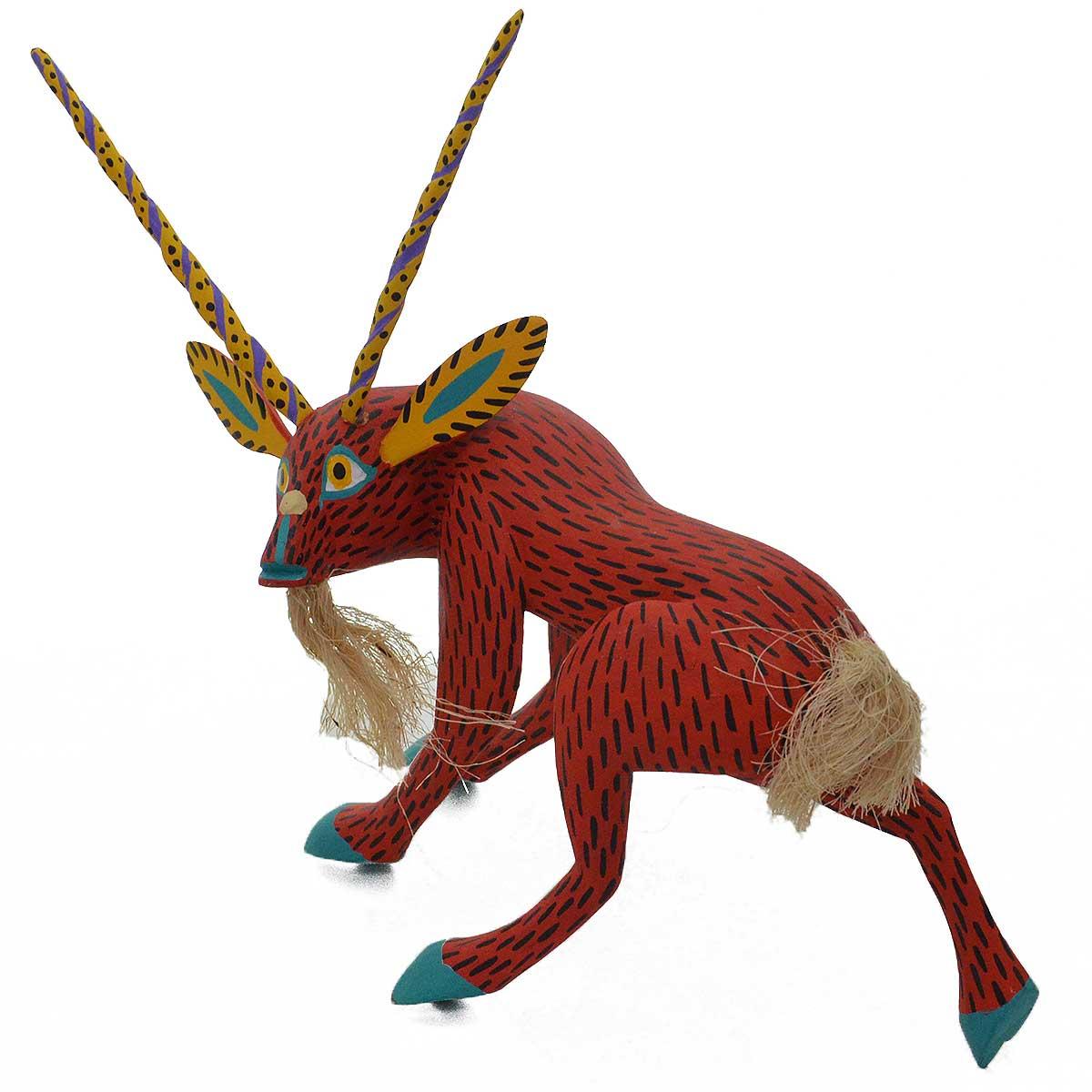 Moises Jimenez & Oralia Cardenas Moises Jimenez & Oralia Cardenas: Red Goat Goat