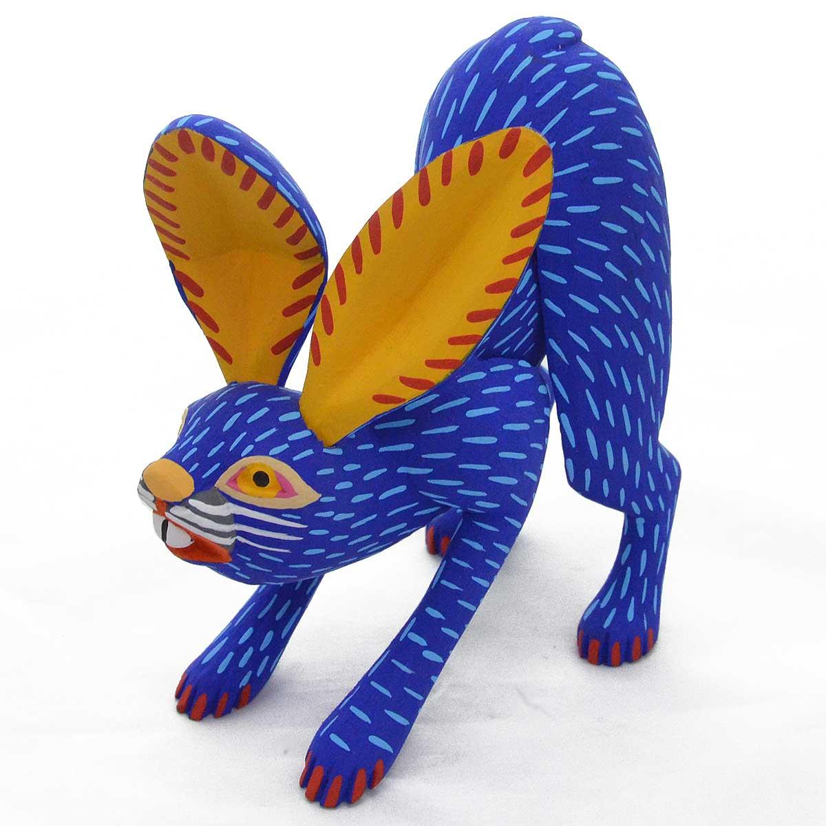 Moises Jimenes & Oralia Cardenas: Blue Rabbit