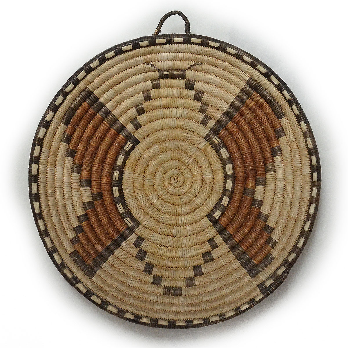 Santa Fe Show Basketry: Hopi 2nd Mesa Butterfly