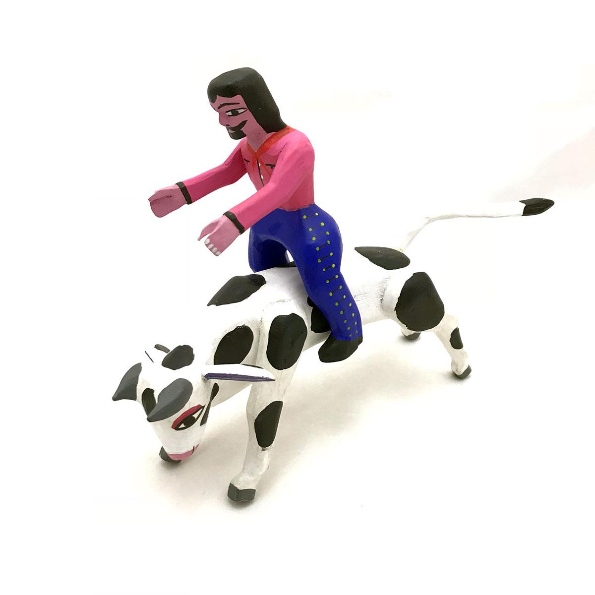 Alberto Perez Alberto Perez: Cow and Rider bulls