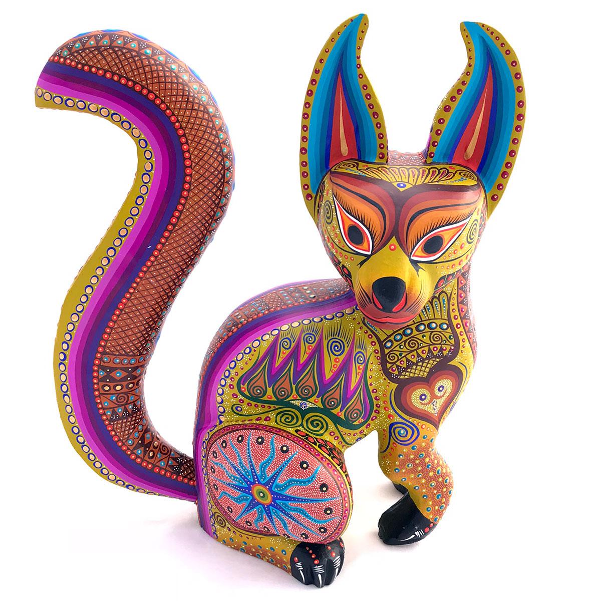 Luis Sosa Calvo Luis Sosa Calvo: Green Fox Fox