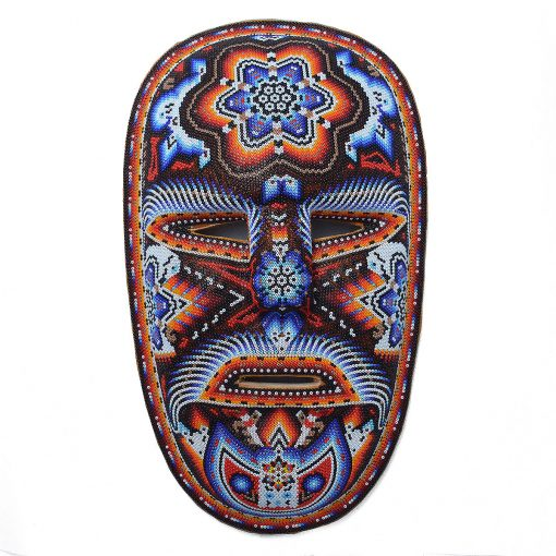 Tucson Lifestyle Feature Large Beaded Mask Beaded