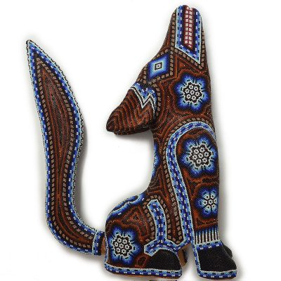 Tucson Lifestyle Feature Large Coyote Beaded Beaded