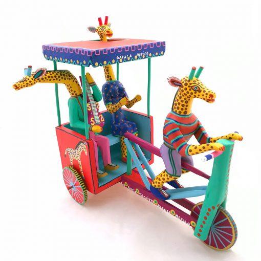 Martin Melchor Martin Melchor: Giraffe Taxi Birds