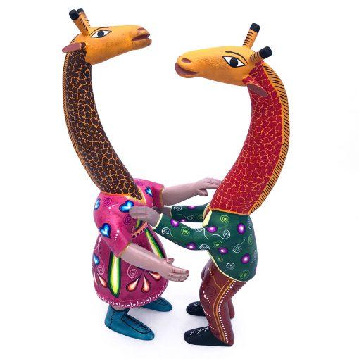 Agustín Cruz Prudencio Agustín Cruz Prudencio: Giraffe Dancers Fantasy