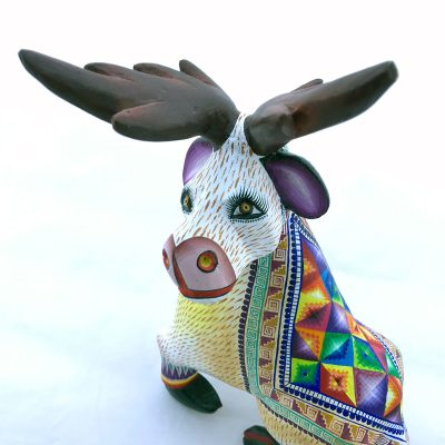 Epifanio Fuentes & Laurencia Santiago Epifanio Fuentes: Deer Classic Style