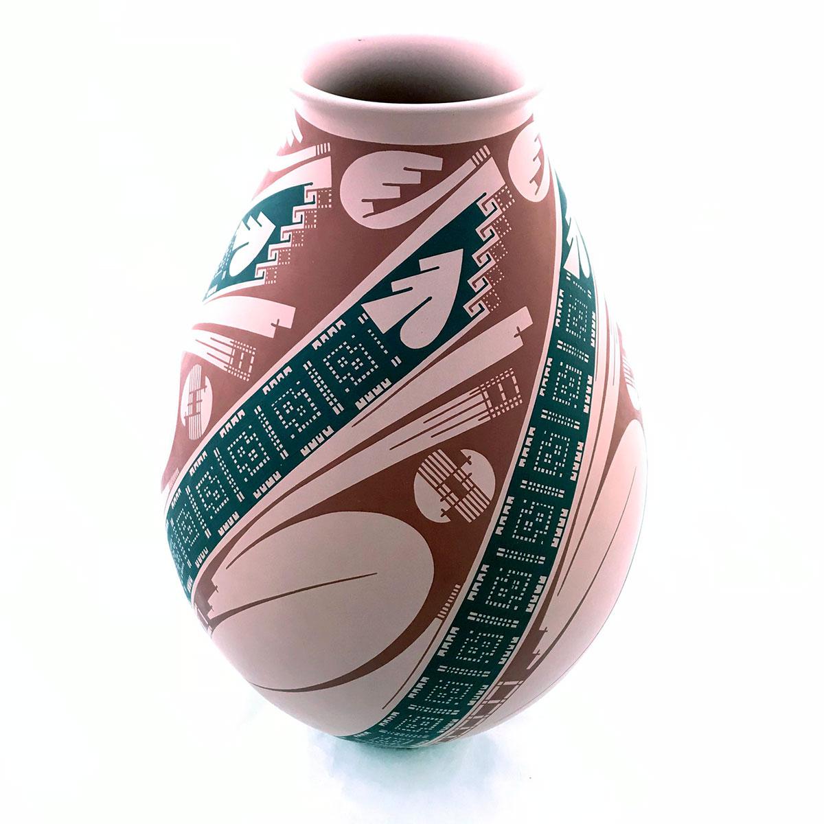 Damian Quezada Damian Quezada: Rare Collector Pot Mata Ortiz Pottery