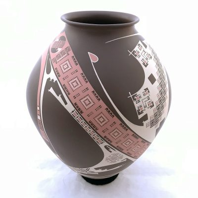 Tucson Lifestyle Feature Damian Quezada: Rare Collector Pot Mata Ortiz Pottery