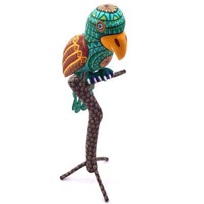 Eleazar Morales Eleazar Morales: Parrot on Branch Birds