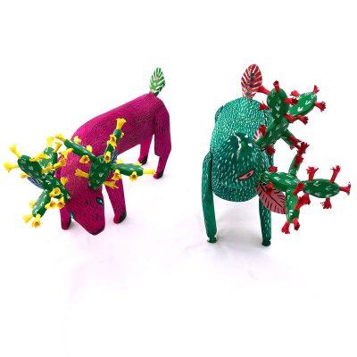 Santiago Santiago Santiago Santiago: Deer with Cactus Antlers Set Cactus