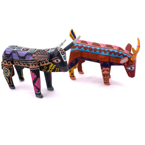 Santiago Santiago Victor Vasquez: Bull and Goat Set bulls