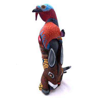 Eleazar Morales Eleazar Morales: Stunning Large Farm Animal Totem carving explorations