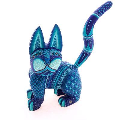 Ivan Fuentes & Mayte Calvo Ivan Fuentes & Mayte Calvo: Med Blue Cat Cats