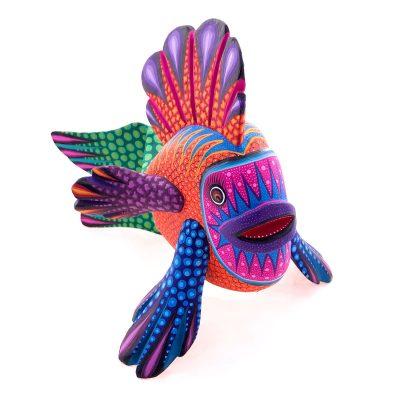 Magaly Fuentes & Jose Calvo Magaly Fuentes & Jose Calvo: Pink Face Orange Body Fish Fish
